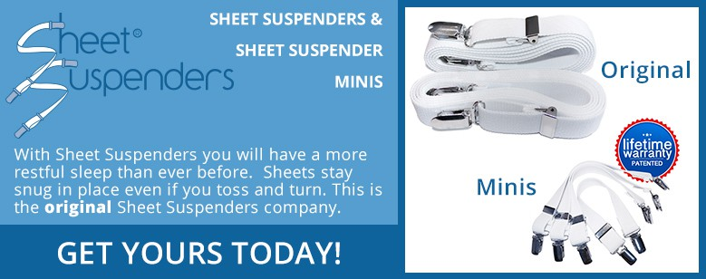 Sheet Suspenders and Sheet Suspenders Minis